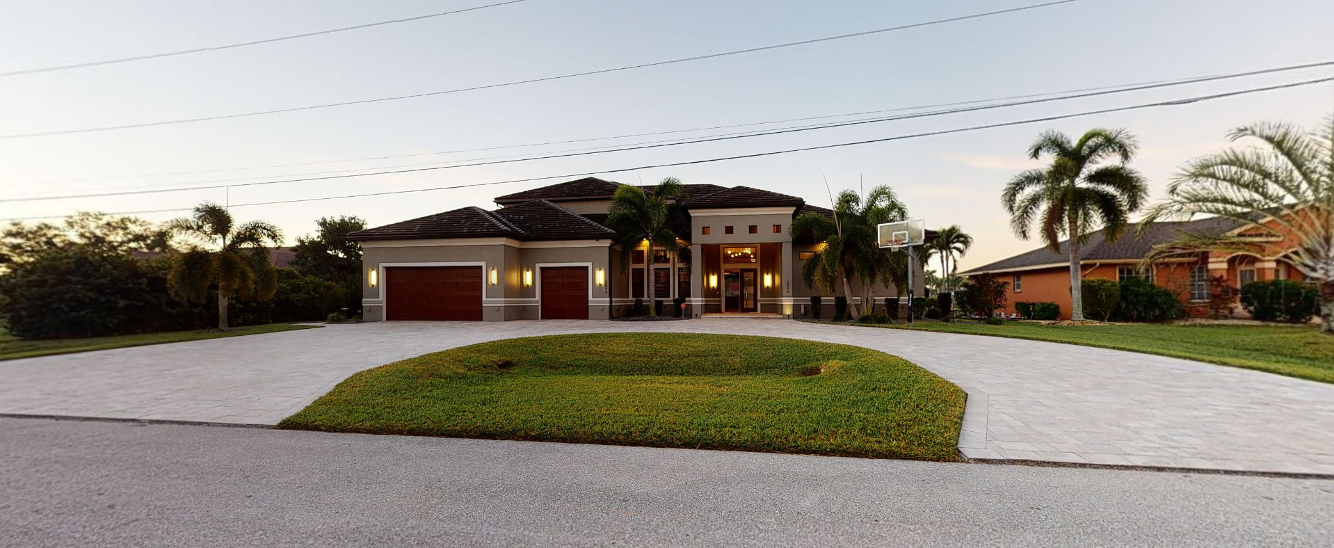 Exisiting Cape Coral Home for sale - sinclair custom homes
